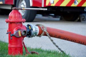 Fire Hydrant and Fire Truck 1405x926